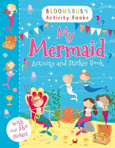 My Mermaid Activity and Sticker Book (Paperback)