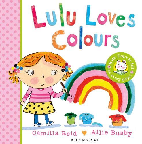 Lulu Loves Colours - LULU (Board book)