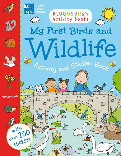 RSPB My First Birds and Wildlife Activity and Sticker Book (Paperback)