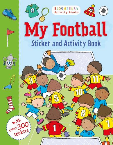 My Football Sticker and Activity Book (Paperback)