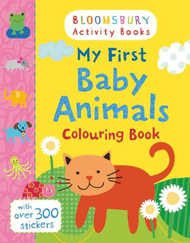 My First Baby Animals Colouring Book (Paperback)