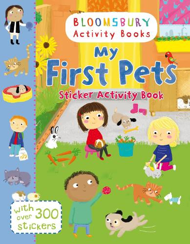 My First Pets Sticker Activity Book (Paperback)