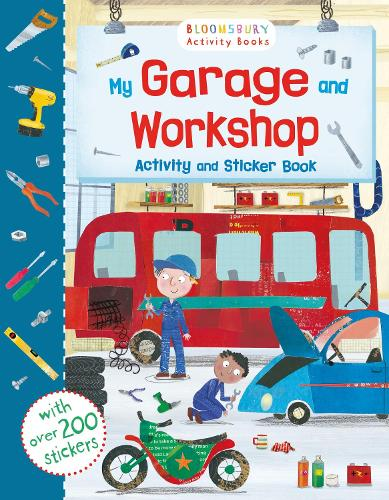My Garage and Workshop Activity and Sticker Book - Sticker Activity Books (Paperback)