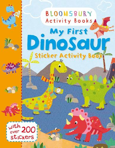 My First Dinosaur Sticker Activity Book (Paperback)