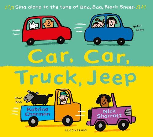 Car, Car, Truck, Jeep - New Nursery Rhymes (Paperback)