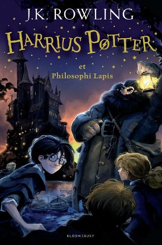 Harry Potter and the Philosopher's Stone Latin: Harrius Potter et Philosophi Lapis (Latin) (Hardback)