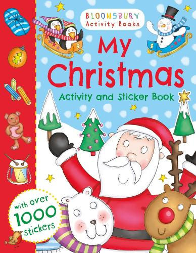 My Christmas Activity and Sticker Book (Paperback)