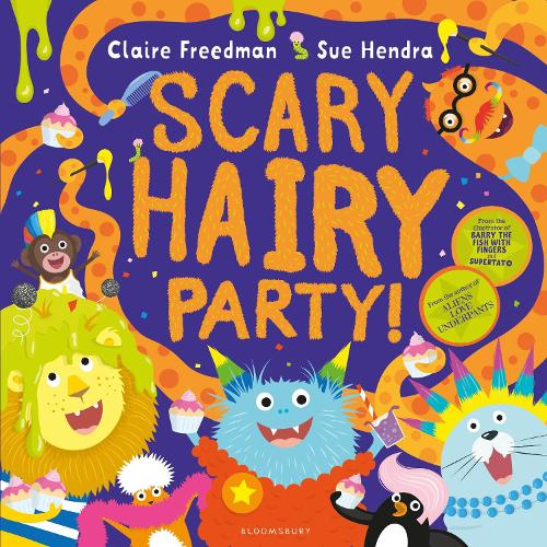 Scary Hairy Party (Paperback)