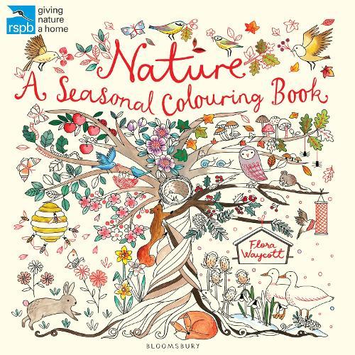 RSPB Nature: A Seasonal Colouring Book