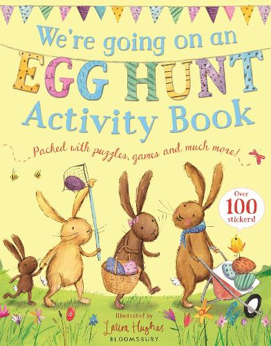 We're Going on an Egg Hunt Activity Book (Paperback)