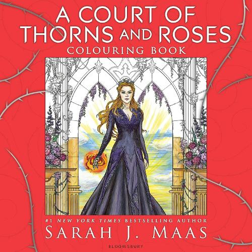 A Court of Thorns and Roses Colouring Book (Paperback)