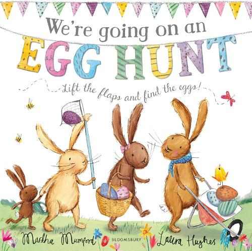 We're Going on an Egg Hunt (Board book)