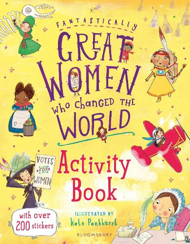 Fantastically Great Women Who Changed the World Activity Book (Paperback)
