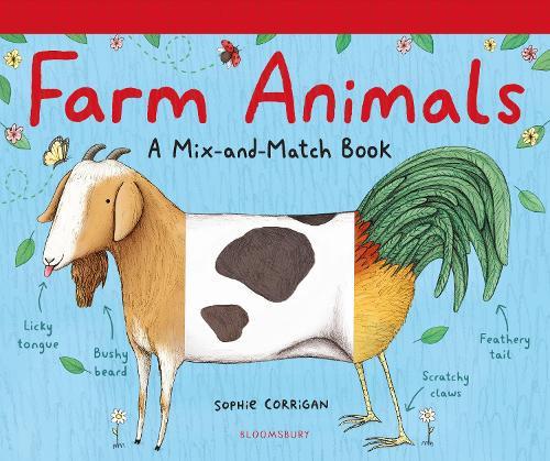 Farm Animals: A Mix-and-Match Book (Hardback)