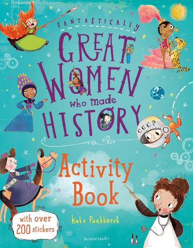 Fantastically Great Women Who Made History Activity Book (Paperback)