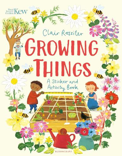 KEW: Growing Things: A Sticker and Activity Book (Paperback)