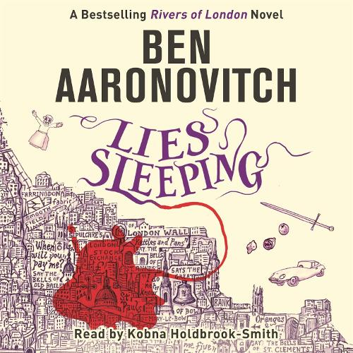 Lies Sleeping: The Seventh Rivers of London novel - A Rivers of London novel (CD-Audio)