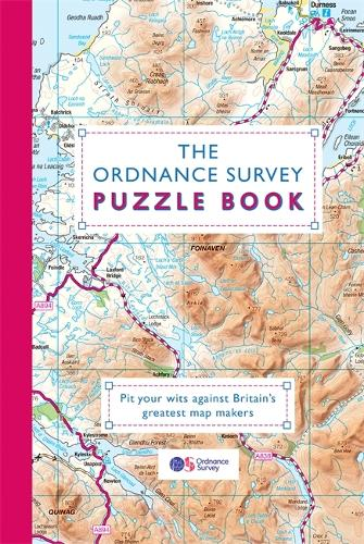 The Ordnance Survey Puzzle Book: Pit your wits against Britain's greatest map makers (Paperback)