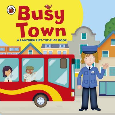 Busy Town (Board book)