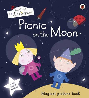Picnic on the Moon Picture Book with Stickers - Ben & Holly's Little Kingdom