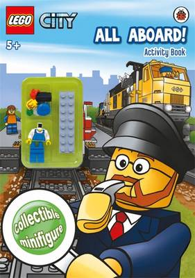 LEGO CITY: All Aboard! Activity Book with Minifigure (Paperback)