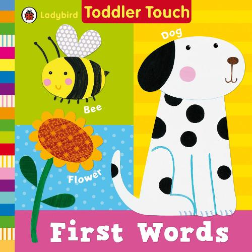 Ladybird Toddler Touch: First Words (Board book)