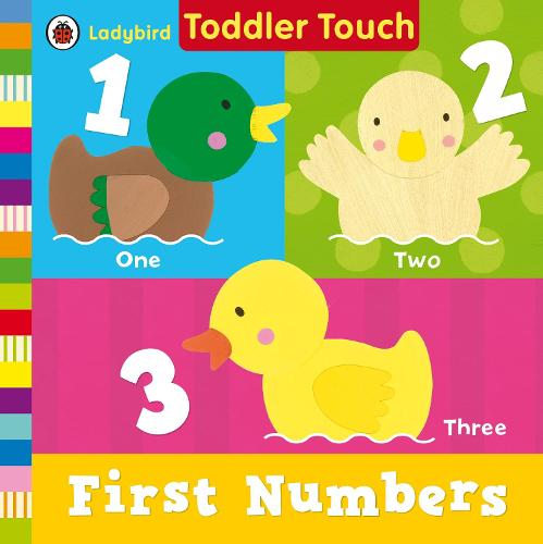 Ladybird Toddler Touch: First Numbers (Board book)