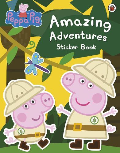 Peppa Pig: Amazing Adventures Sticker Book - Peppa Pig (Paperback)