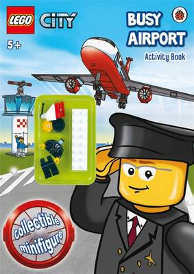 LEGO CITY: Busy Airport Activity Book with Minifigure (Paperback)