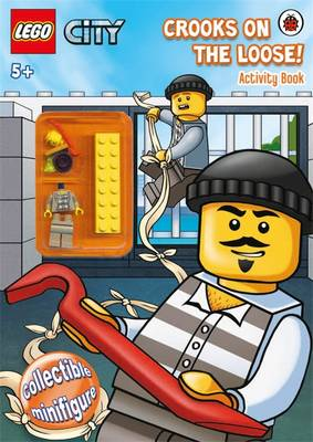 LEGO CITY: Crooks on the Loose! Activity Book with Minifigure (Paperback)