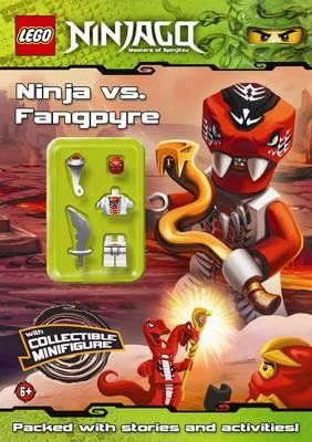 LEGO Ninjago: Ninja vs Fangpyre Activity Book with Minifigure (Paperback)