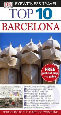DK Eyewitness Top 10 Travel Guide: Barcelona - DK Eyewitness Travel Guide (Paperback)