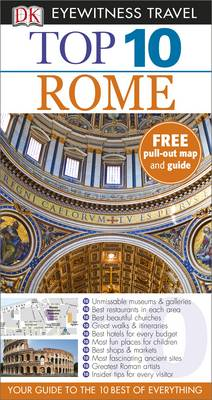 DK Eyewitness Top 10 Travel Guide: Rome - DK Eyewitness Travel Guide (Paperback)