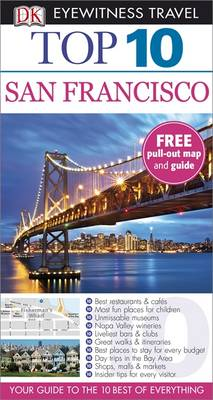 DK Eyewitness Top 10 Travel Guide: San Francisco - DK Eyewitness Travel Guide (Paperback)