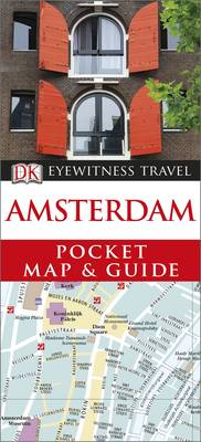 Amsterdam Pocket Map and Guide - DK Eyewitness Travel Guide (Paperback)