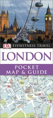 London Pocket Map and Guide - DK Eyewitness Travel Guide (Paperback)