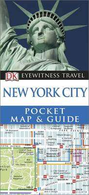 New York City Pocket Map and Guide - DK Eyewitness Travel Guide (Paperback)