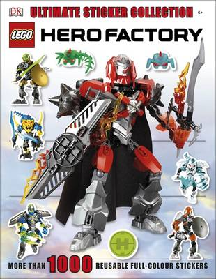 Lego Hero Factory Ultimate Sticker Collection By Dk Waterstones