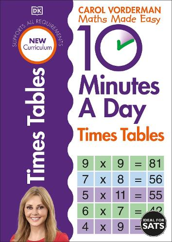 10 Minutes A Day Times Table - Made Easy Workbooks (Paperback)