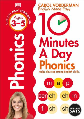 10 Minutes A Day Phonics, Ages 3-5 (Preschool): Supports the National Curriculum, Helps Develop Strong English Skills - Made Easy Workbooks (Paperback)