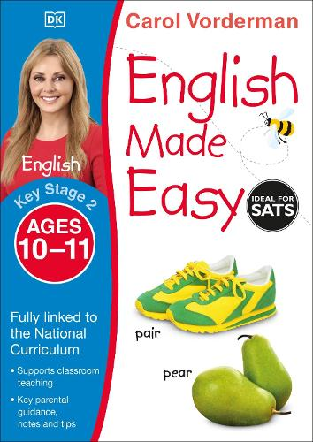 English Made Easy Ages 10-11 Key Stage 2 - Carol Vorderman's English Made Easy (Paperback)