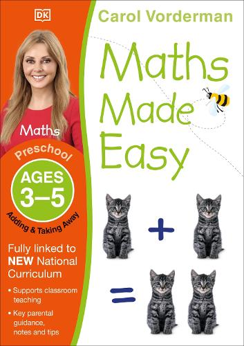 Maths Made Easy Adding and Taking Away Ages 3-5 Preschool Key Stage 0 - Made Easy Workbooks (Paperback)