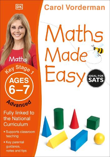 Maths Made Easy Ages 6-7 Key Stage 1 Advanced - Made Easy Workbooks (Paperback)