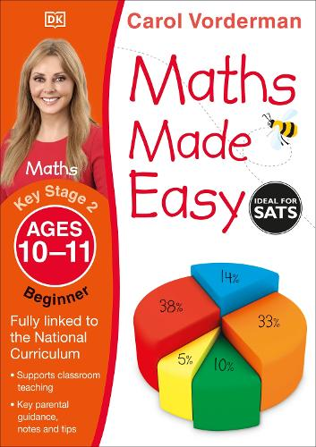 Maths Made Easy: Beginner, Ages 10-11 (Key Stage 2): Supports the National Curriculum, Maths Exercise Book - Made Easy Workbooks (Paperback)