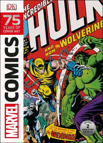 Marvel Comics 75 Years Of Cover Art (Hardback)