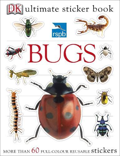 RSPB Bugs Ultimate Sticker Book (Paperback)