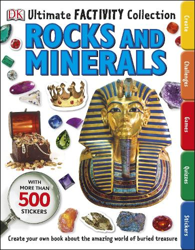 Rocks and Minerals Ultimate Factivity Collection: Create your own Book about the Amazing World of Buried Treasure (Paperback)