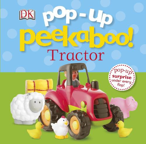 Pop-Up Peekaboo! Tractor - Pop-up Peekaboo! (Board book)