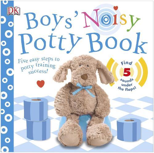 Boys' Noisy Potty Book (Board book)