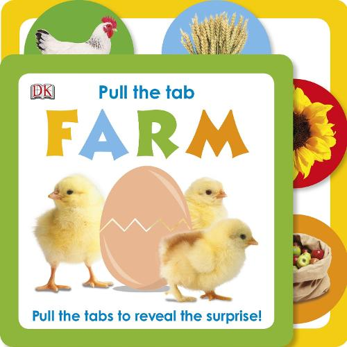 Pull The Tab Farm (Board book)